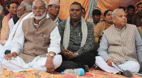 भिडियो कन्फ्रेनसपछि मधेसी मोर्चामा शीर्ष नेताहरु दिल्ली जाँदै