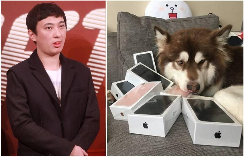 Wang-Sicong-and-his-Dog