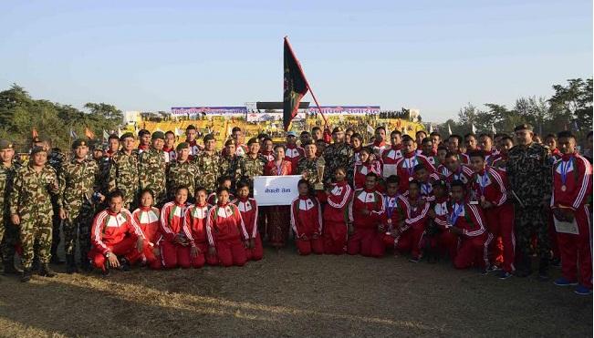 nepal army team