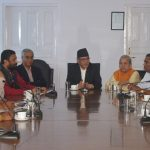meeting with madhesi leader