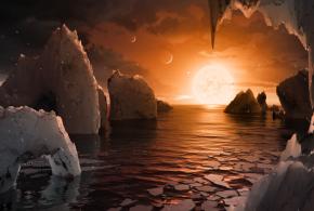 पृथ्वीको आकारका सात ग्रह भेटिए,  तीन ग्रहमा जीवन विकास भएको हुनसक्ने  अनुमान