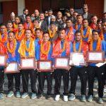 nepali-football-team-awarded