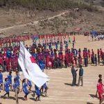 marchpass at dasrat school, bajura
