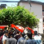 Students Union protest in Education office
