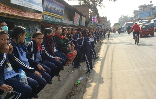 student protest at ring road2