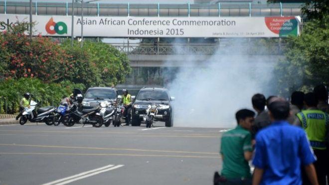 blast in indonesia