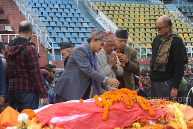 Koirala dead body at stadium (4)