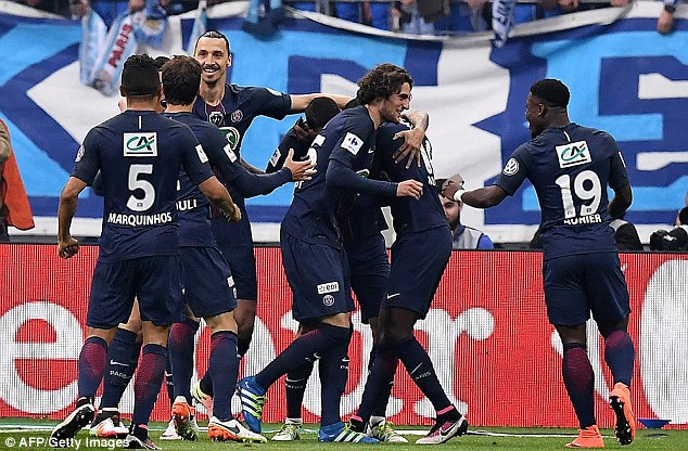 PSG won French Cup