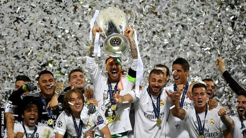 Real Madrid won Champions League Title