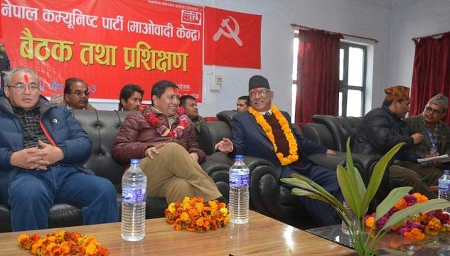 prachand at Surkhet